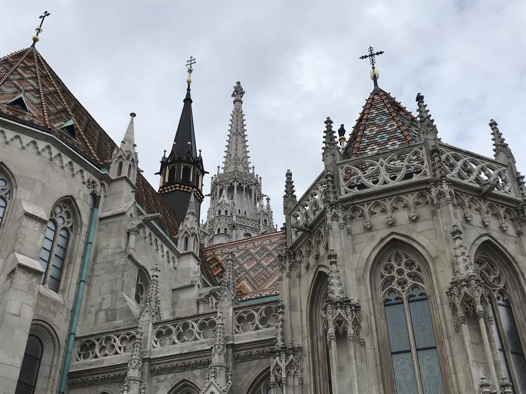 マーチャーシュ教会を後方からみた屋根