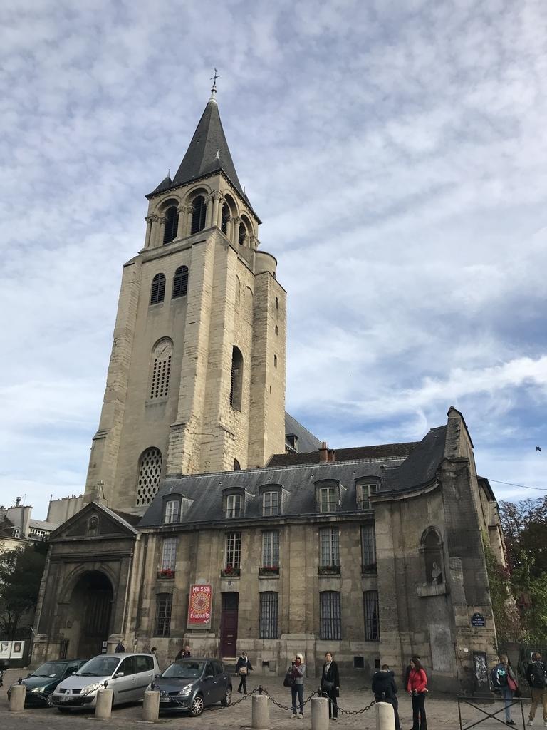 サン・ジェルマン・デ・プレ教会外観