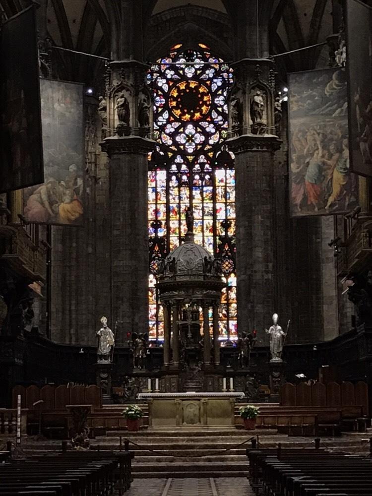 ミラノのドゥオーモ主祭壇