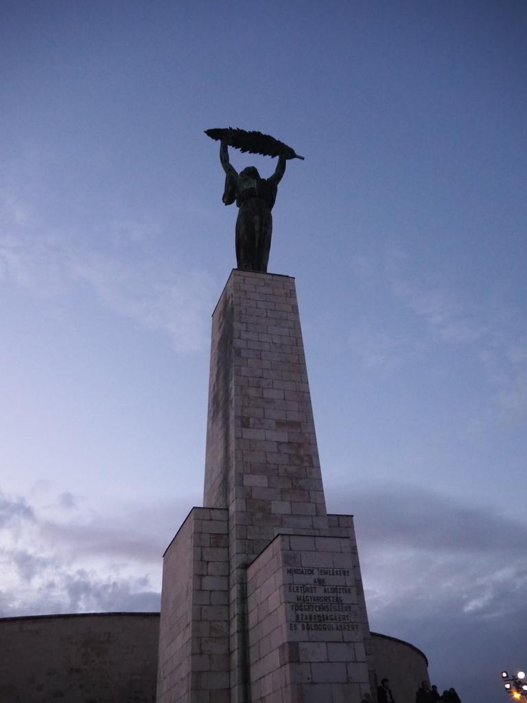 ゲッレールトの丘「自由の像」