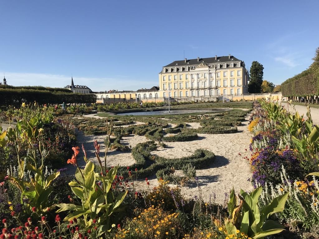 アウグストゥスブルク城のシュロス庭園