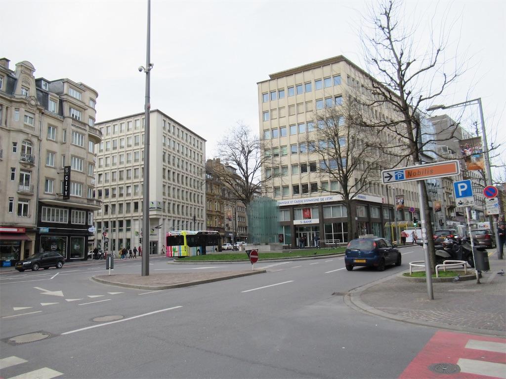 ルクセンブルク街並み