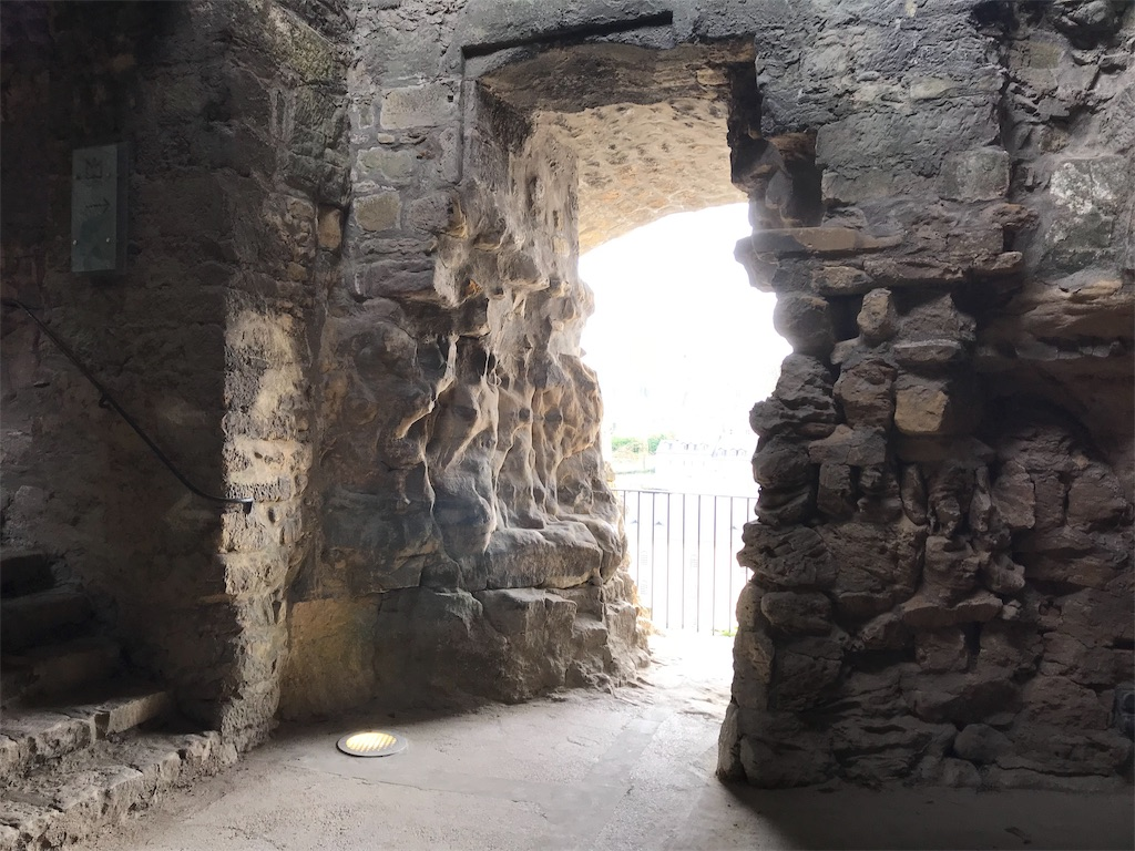 ボックの砲台の地下通路