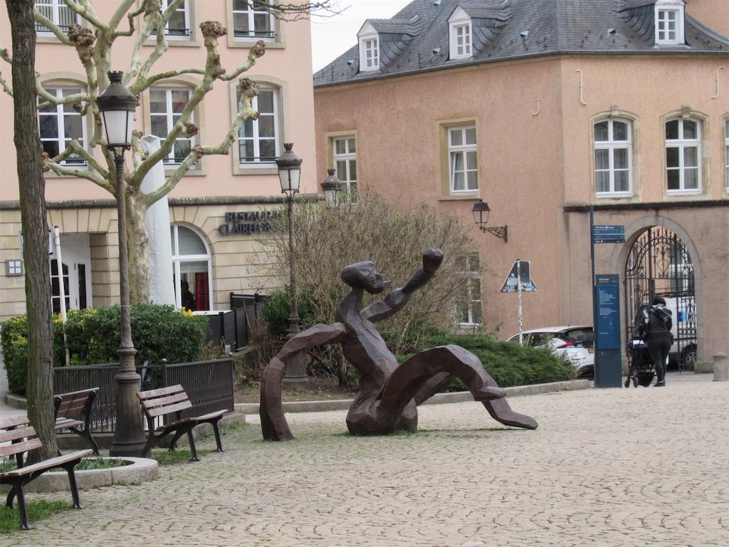 ルクセンブルクの街並み