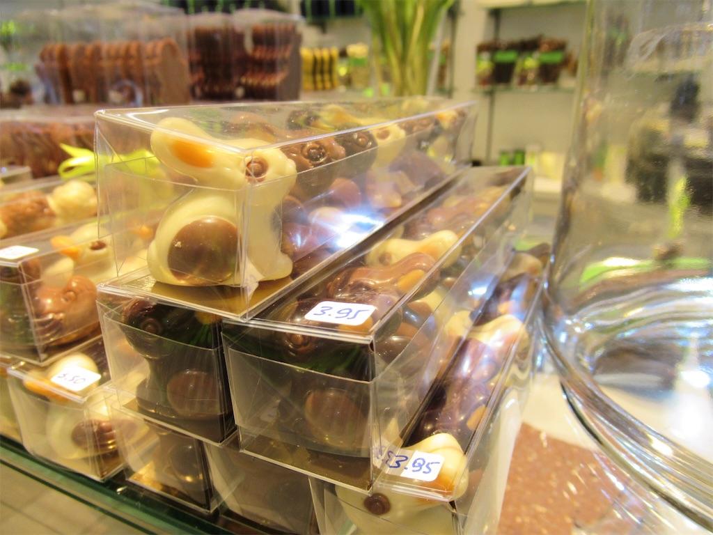 ブルージュのチョコレートショップ