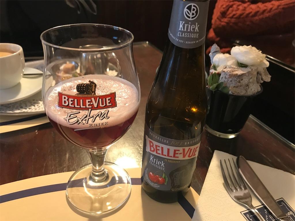 ブルージュ「Tearoom Carpe Diem」のチェリービール