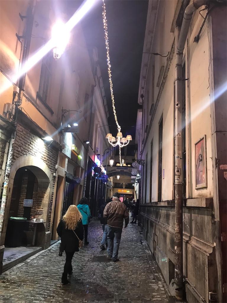 ブリュッセルの小道