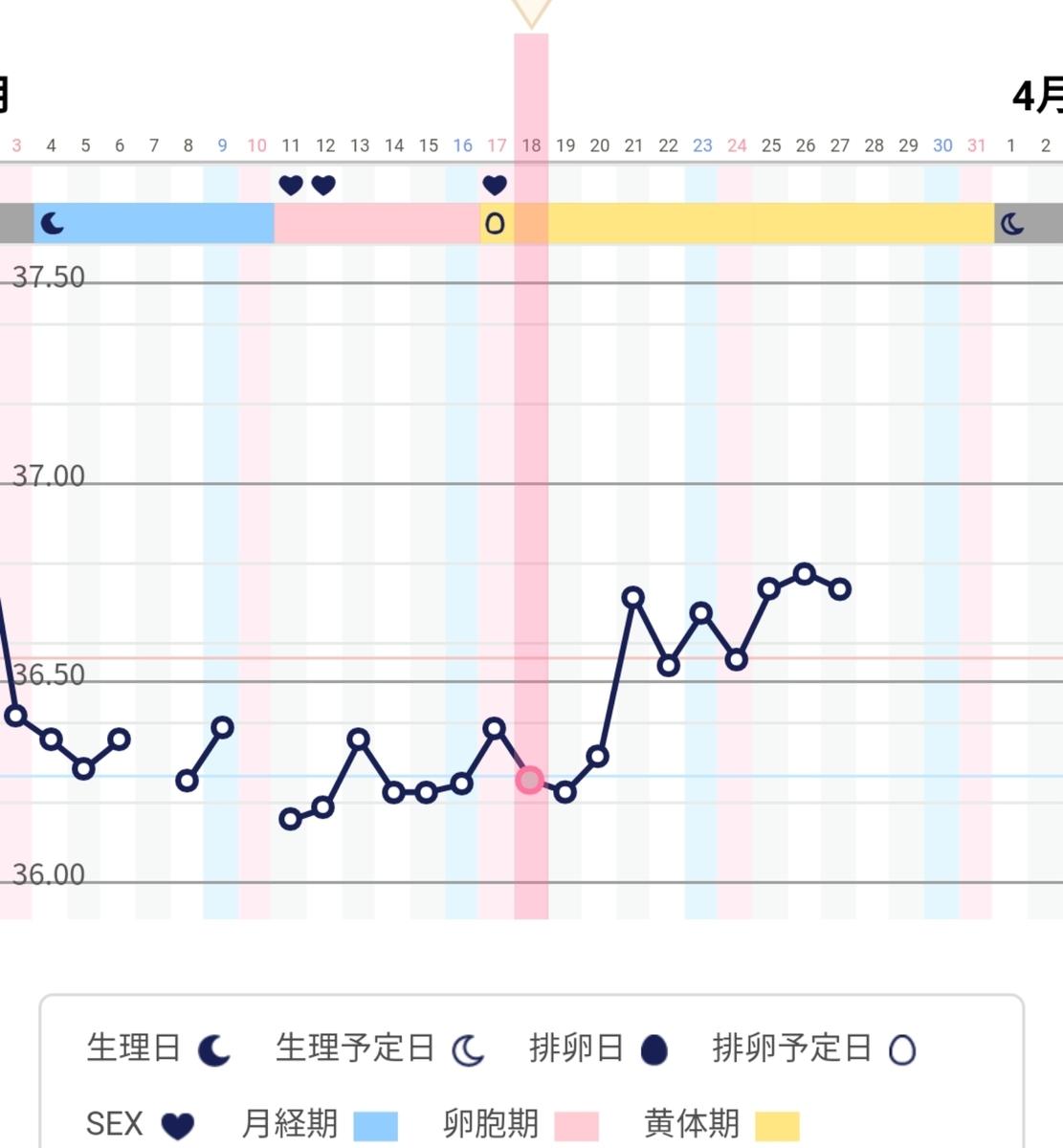 吐き気 高温期4日目 高温期18日目 妊娠検査薬で陽性後