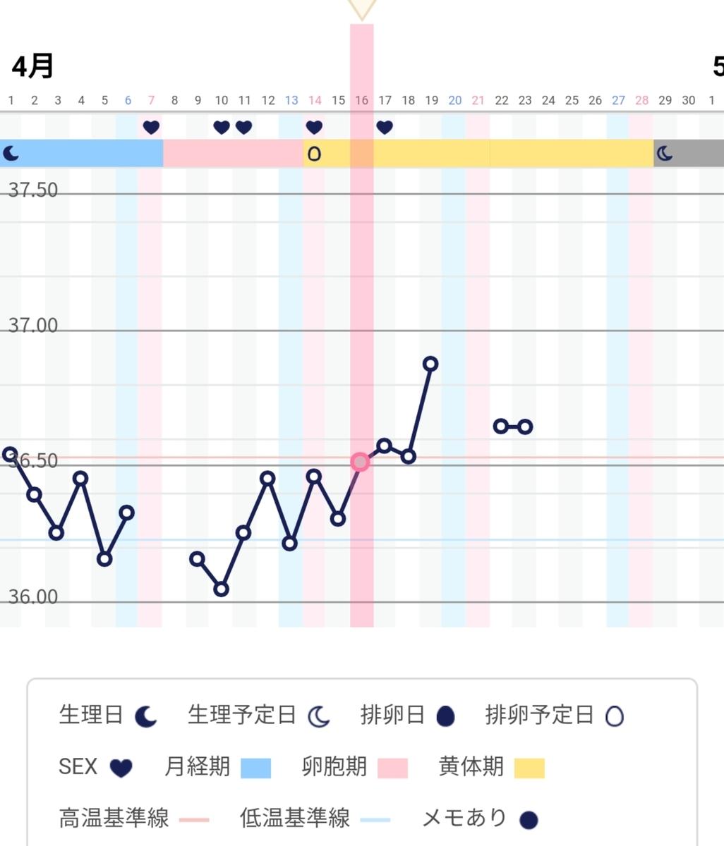 日 下がる 高温 目 体温 期 8