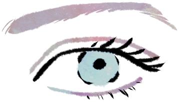 眉毛のイラスト