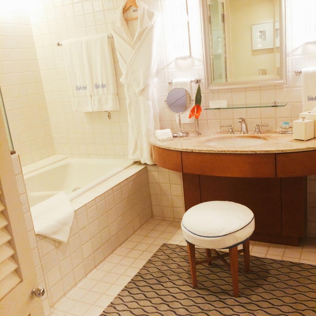 ハレクラニバスルームの写真