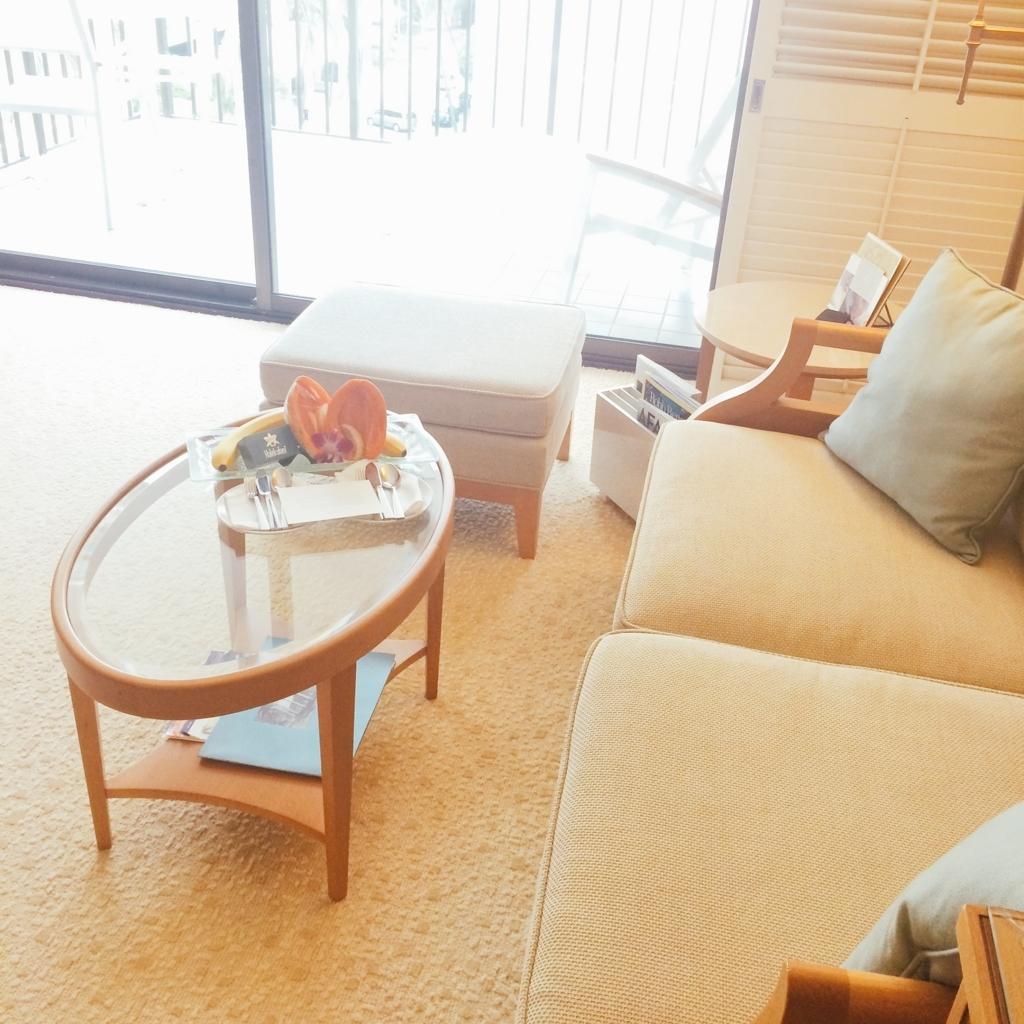 ハレクラニ客室内の写真