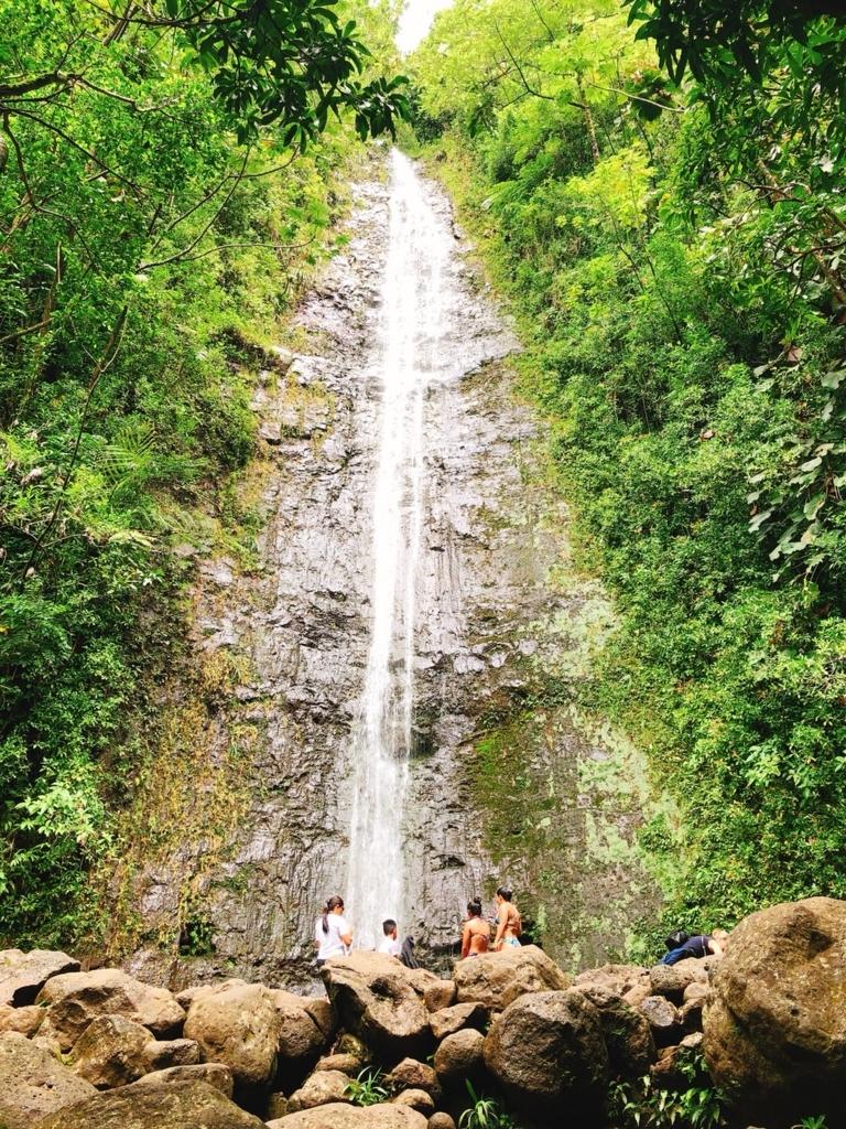 マヌアの滝の写真