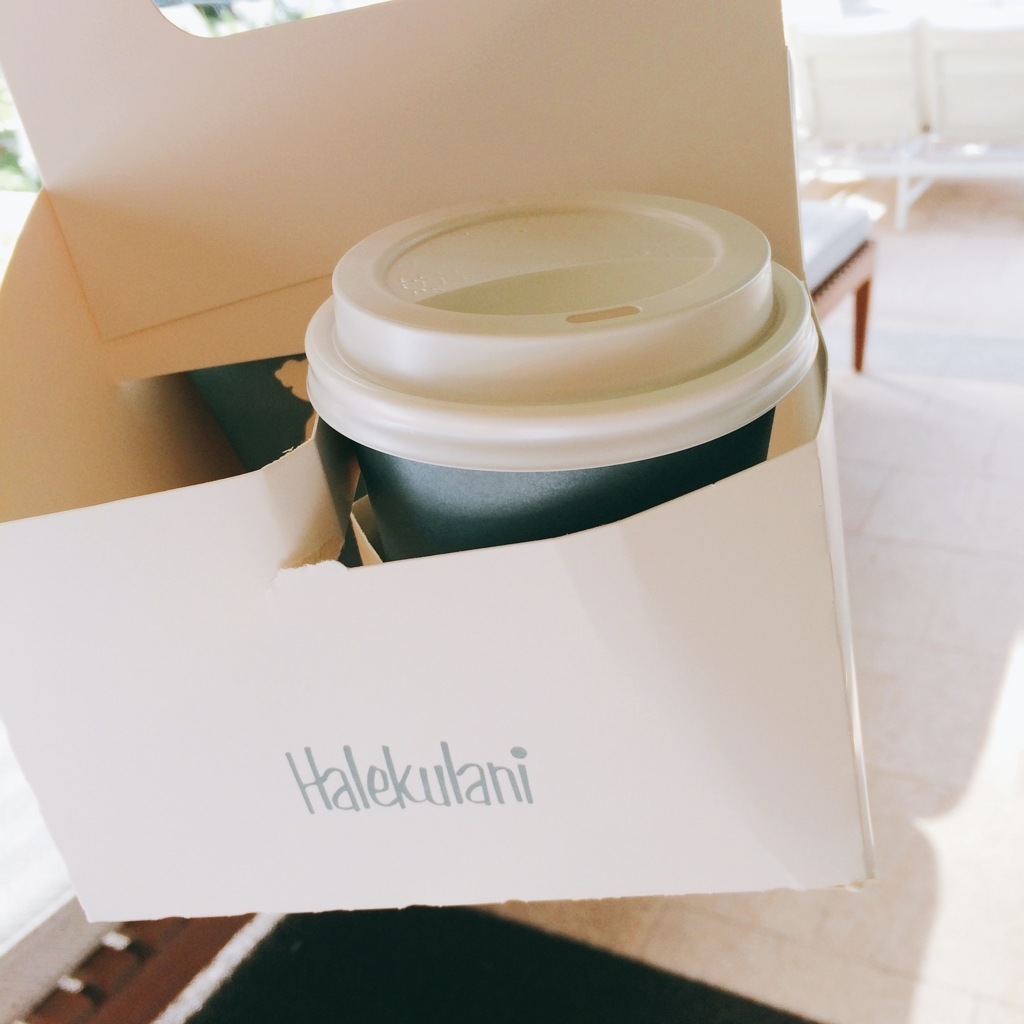ハレクラニのコーヒーの画像