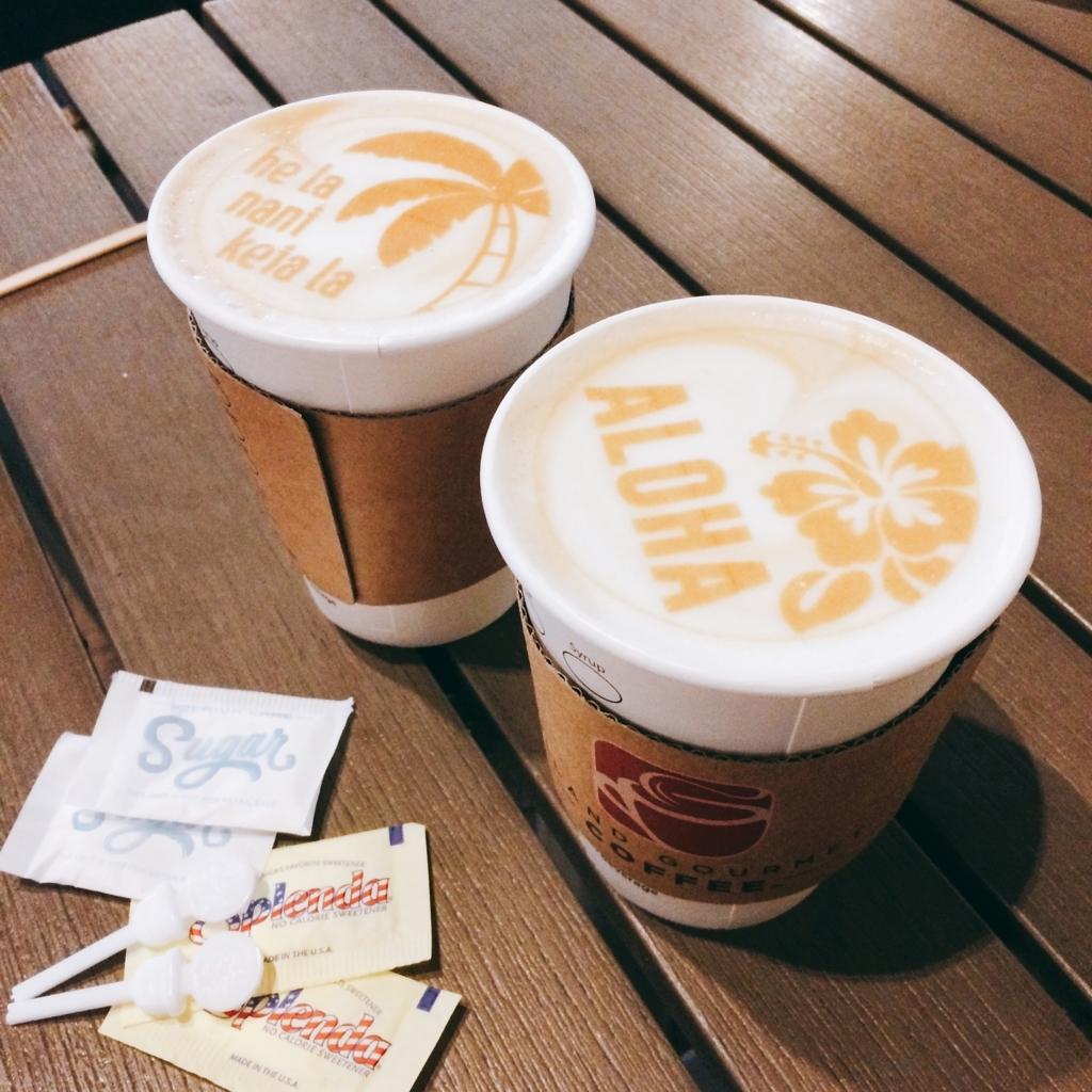 デュークスレーンのカフェラテの写真