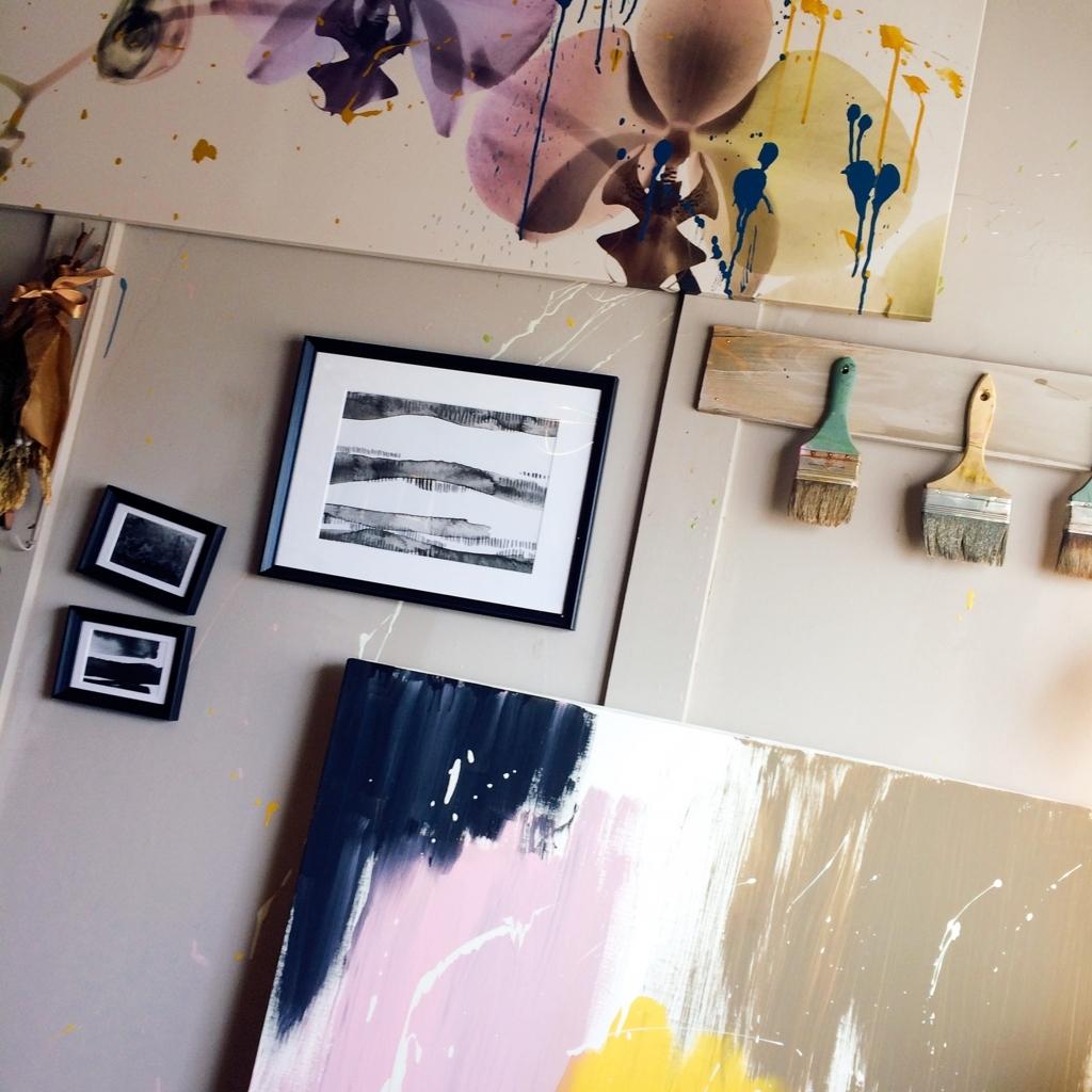 アトリエの部屋の写真
