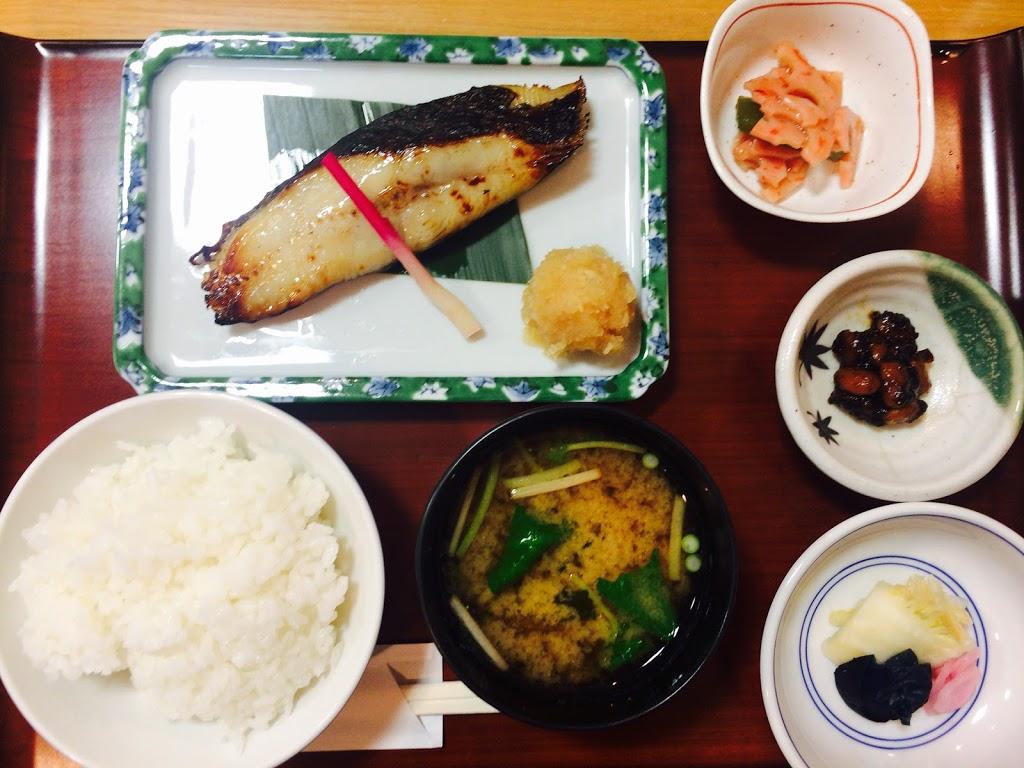 魚久銀座店のイートインあじみせで粕漬け定食