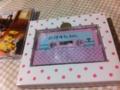 初回限定盤のカセットテープ