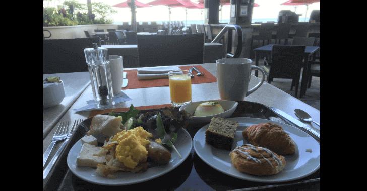 ハワイの朝食ビュッフェ