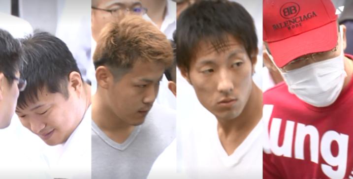 渡辺優勢,佐藤翔太,岩崎達也,三枝和也