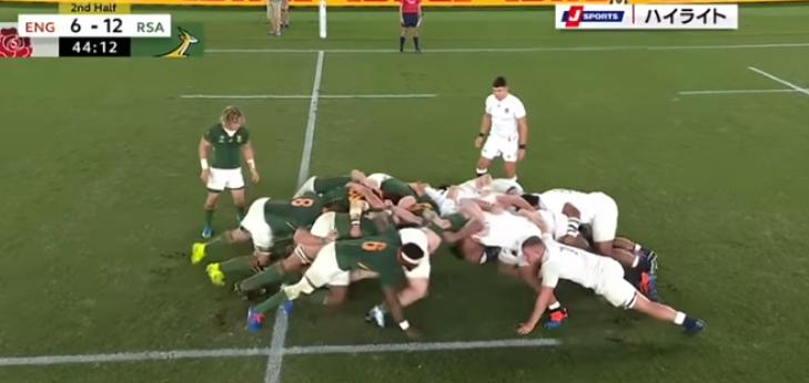 イングランド,南アフリカ,決勝戦