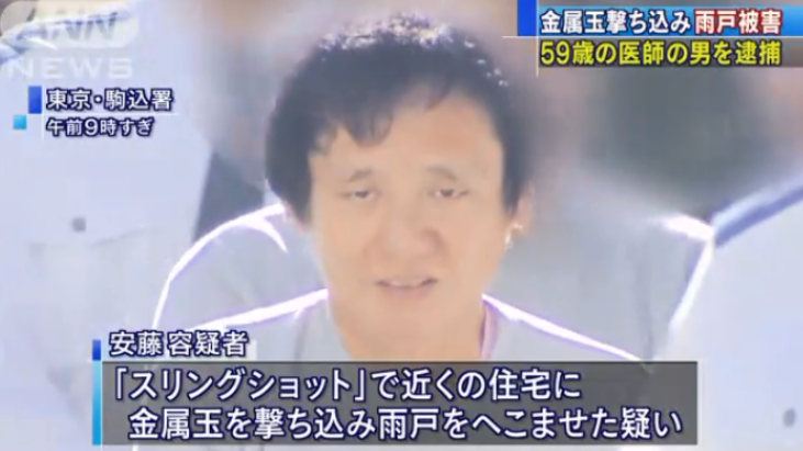 安藤寛,あんどうひろし,顔画像,医師,スリングショット