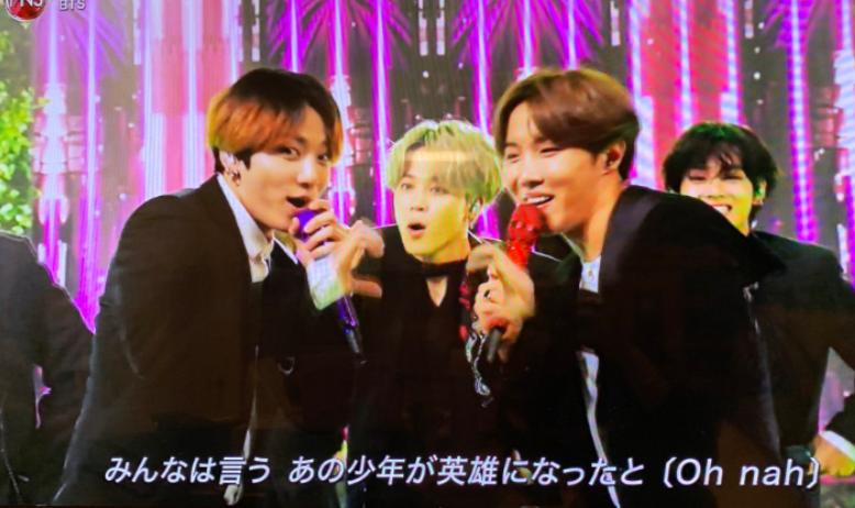 FNS歌謡祭2019,BTS,動画