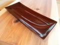 欅拭漆皿-潮-