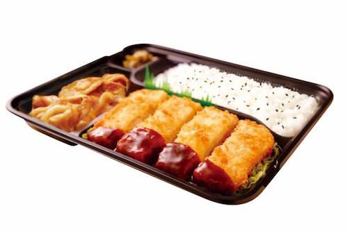 チーズチキンかつ生姜焼き弁当