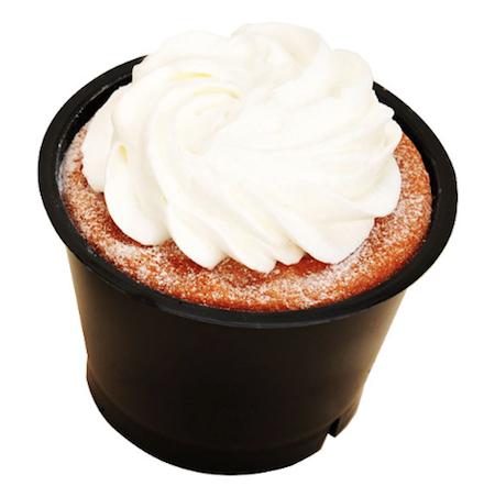 ファミリーマートのたっぷりクリームの生シフォンケーキ