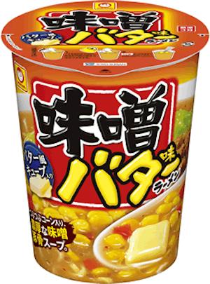 東洋水産の「マルちゃん 縦型ビッグ 味噌バター味ラーメン」