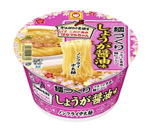 東洋水産の「がんばれ!受験生 麺づくり しょうが醤油味」