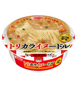 エースコックの「トリカライヌードル 辛口鶏白湯味」