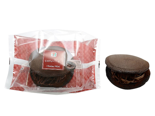 セブンイレブンのもっちりチョコパンケーキどら