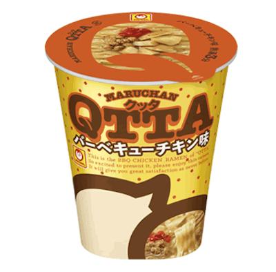 東洋水産の「MARUCHAN QTTA(クッタ) バーベキューチキン味」