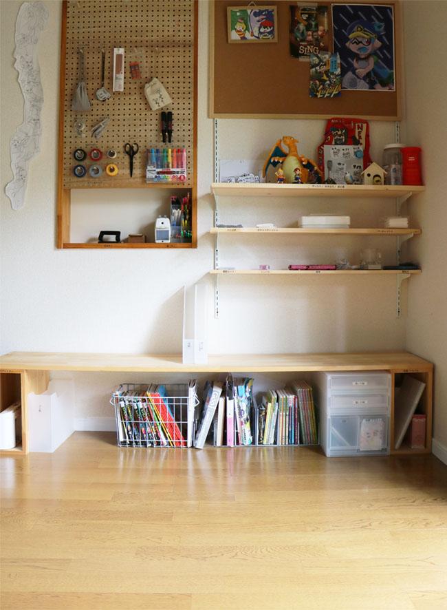 子供部屋の収納法