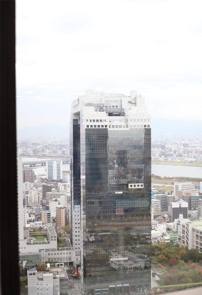 高層ビルからの眺め