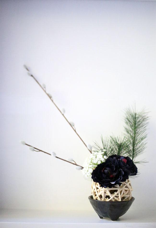 お正月飾り手作りナチュラル