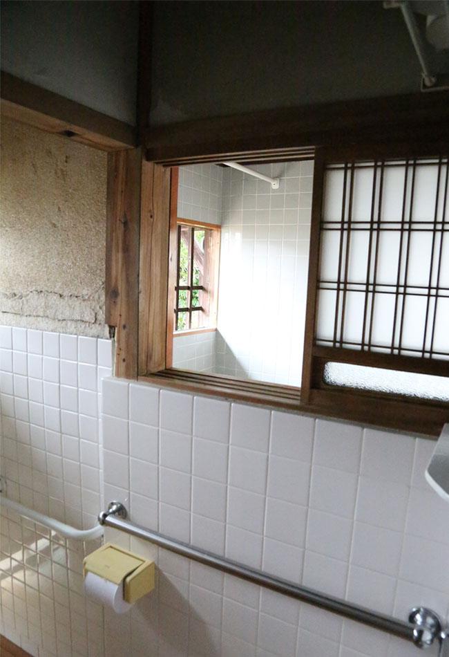 家中の換気に特化したトイレの窓