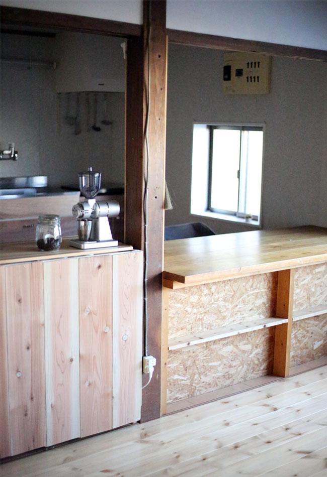 無印良品の棚を使ってキッチンカウンターを作る