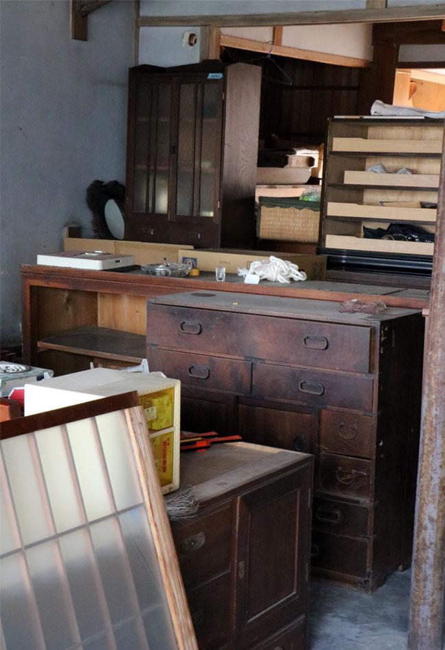 大分県佐伯市の河野家移住計画:旧平岡屋の家財