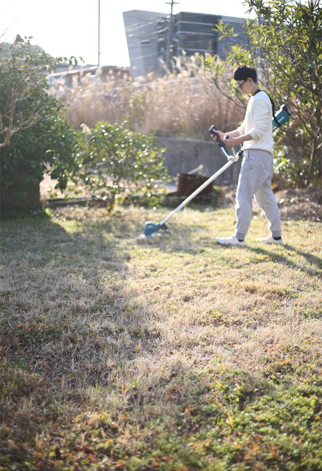 マキタ電動草刈り機