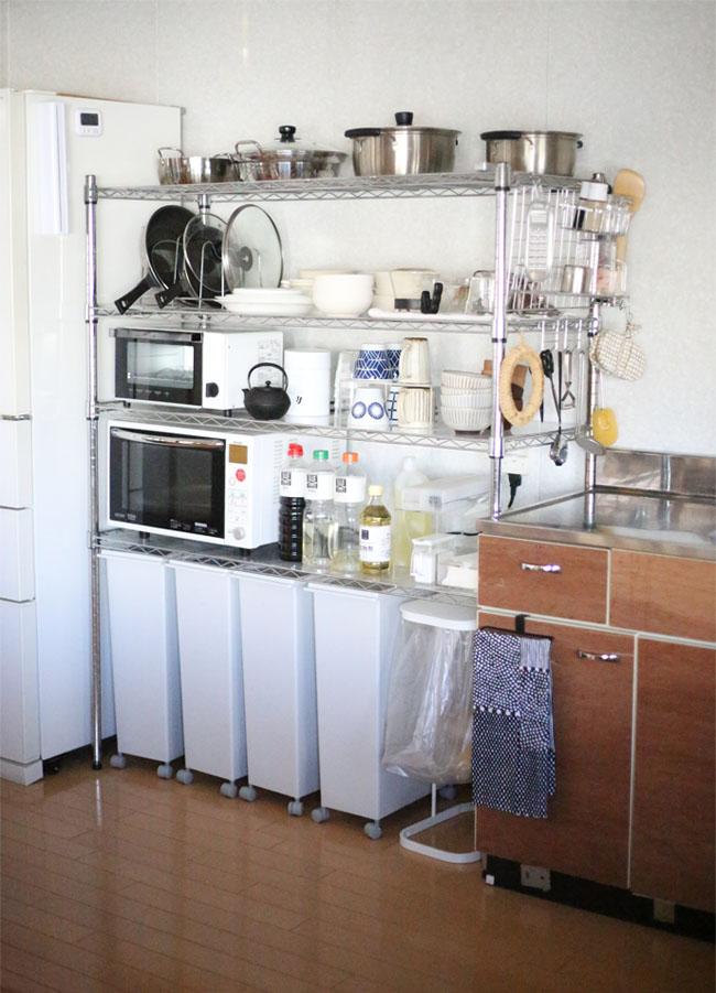 家族全員が使いやすいキッチン