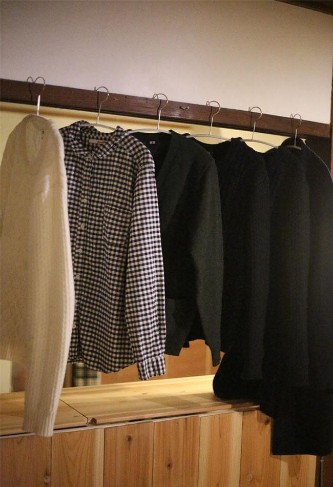 使用頻度が高いセーターの毛玉を取る