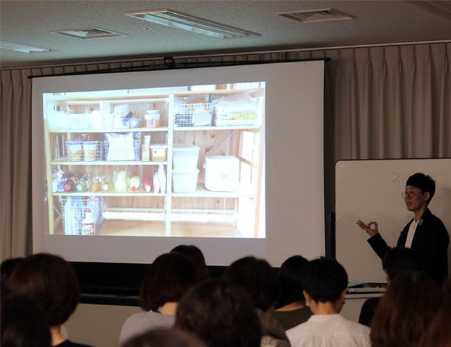 やまぐちせいこ NHK文化センター横浜教室講演風景