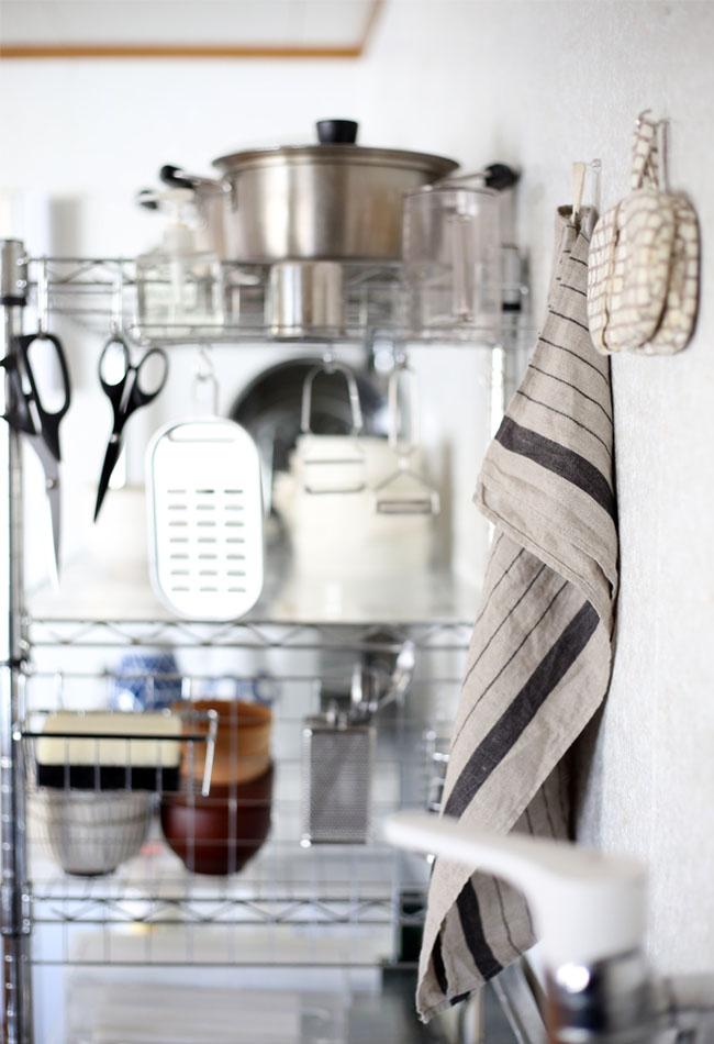 キッチンで使う無印良品