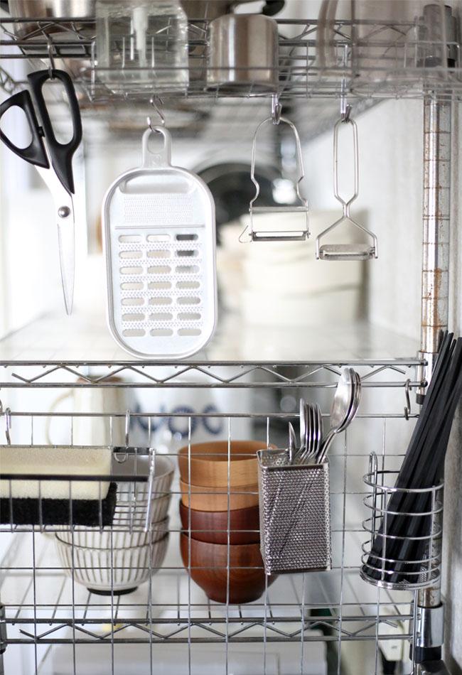 キッチンま家事動線を楽にする仕組み