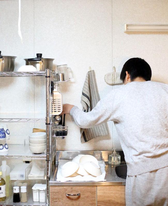子供でも家事参加しやすいキッチンの仕組み
