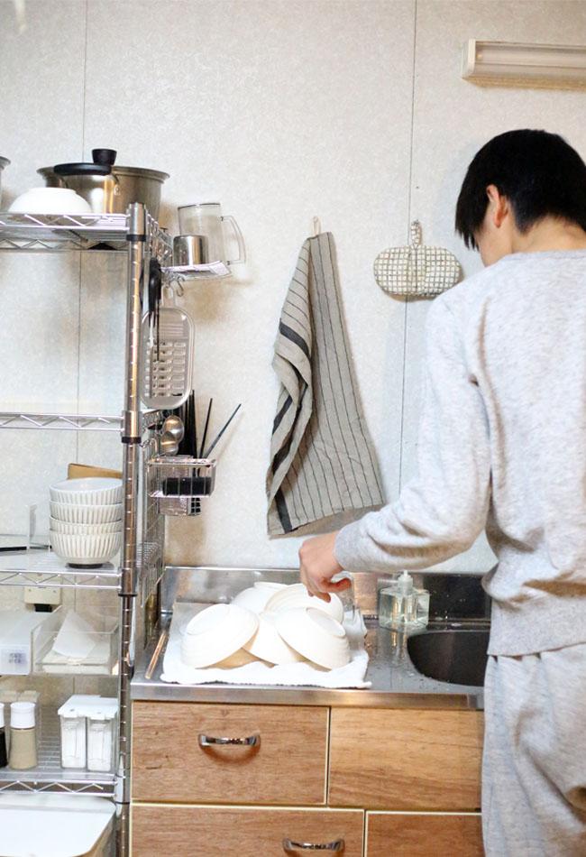 男性女性共に家事参加する時代