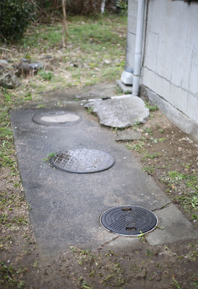 トイレの浄化槽の詰まり